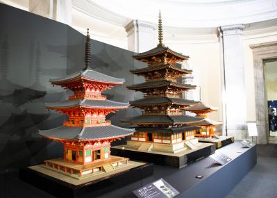 模型で日本建築の成り立ちを学ぶ、東博『日本のたてもの—自然素材を活かす伝統の技と知恵』。