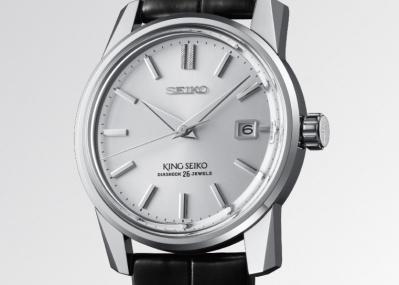 セイコー創業140周年を記念して、60年代の国産高級腕時計市場をリードした名作「キングセイコー」が復刻。