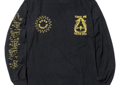 グラフィックアーティストYOSHIROTTENが偏愛する、音楽系ロングTシャツ