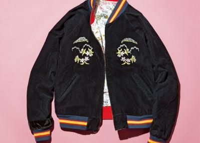 俳優・岡山天音が偏愛する、古着のスーベニアジャケット