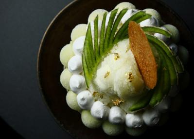 自分だけのご褒美に食べたい、アマン京都の「マスクメロンのかき氷」