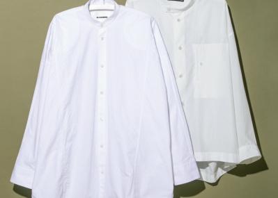 バンドカラーのシャツを、音楽家・江﨑文武が偏愛する理由とは?