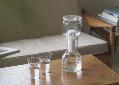 工芸職人とのコラボから生まれたクリンスイのガラス浄水器を1名様にプレゼント!