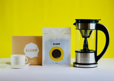 いま注目の焙煎家のコーヒーが自宅で飲める!スラープとクイジナートがコラボ