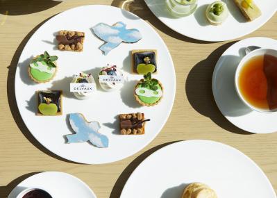 東京エディション虎ノ門で楽しむ、皿の上のスイートなマグリット