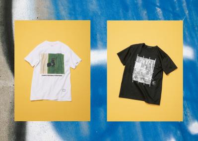 【ファッションギャラリー】お気に入りのフォトを、Tシャツで身軽に連れ出す