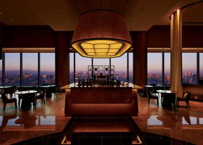 圧倒的なパノラマと格調高いバーは必見!「フォーシーズンズホテル東京大手町」。
