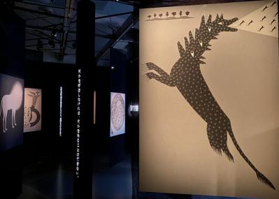 デザイナー永井一正の「いきる」ことへのメッセージ。動物たちが集う展覧会がgggで開催中。
