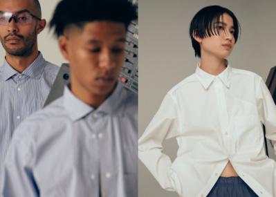 トーマスメイソンのシャツ生地を使用した、 Goldwinの高機能なシャツコレクションに注目。