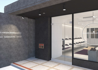 ドイツの紳士靴ブランドの直営店が大阪・南船場にオープン
