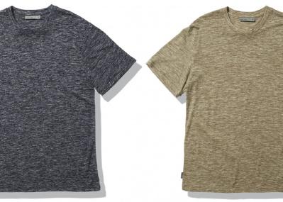 素肌にウール、の新習慣。アイスブレーカーのリネン混ウールTシャツで涼しく優雅な日々を。