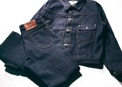 リーにもあった大戦モデル! コレクター垂涎のジャケットとジーンズの復刻版が新登場。
