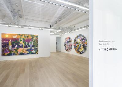 いま注目の気鋭アーティスト・松山智一による、国内3年ぶりの個展が5月22日より六本木にて開催