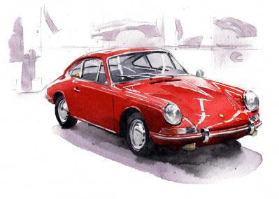 合理的な設計思想で、スピードと実用性を両立させたスポーツカー【名車のセオリー Vol.2 ポルシェ 911】