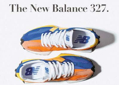 70年代の3型をミックスした、ニューバランスの最新スニーカー「327」は温故知新の美学。