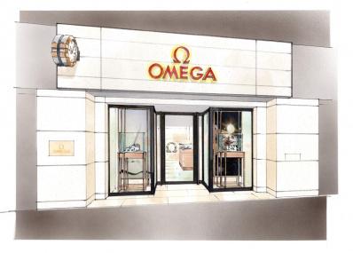「オメガブティック 並木通り店」がよりラグジュアリーな空間に。6月10日にリニューアルオープン決定!