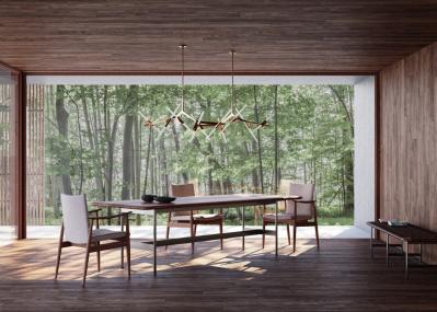 どこから見ても美しすぎる「リッツウェル」のテーブルで、自宅をアップデート