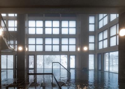 修行僧の開いた温泉地に立つ「ホテル鹿の湯」が、北海道史を物語る。