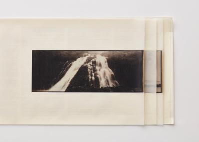 日本の自然の強さと儚さを、プラチナプリントと繊細な装丁で表現した写真集『SHIZEN』。