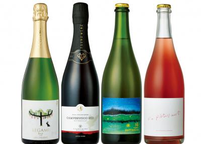 """2500円以下の個性派から熟成10年の本格派まで、""""日本のスパークリングワイン""""に注目せよ。"""