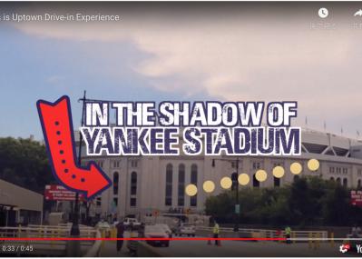 会場はヤンキースタジアム! 人気再燃のドライブイン・イベントも、NYの場合はフェスティバル級!