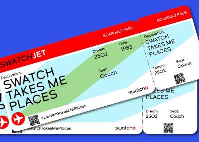 パリや火星にひとっ飛び⁈ スウォッチがインスタグラムで世界30都市を巡るバーチャルツアーを実施中。