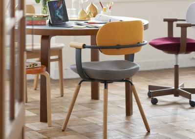 【WORK AT HOME  家で働く、心地よく。】デザインの良いワークチェア8選