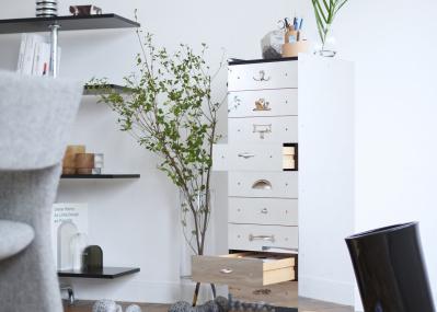【WORK AT HOME 家で働く、心地よく。】デザインの良い収納家具8選