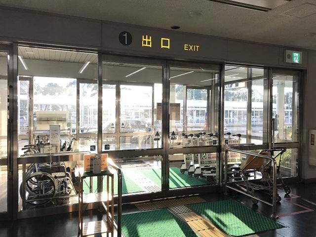 鹿児島空港レンタカー送迎バス乗り場へのアクセス