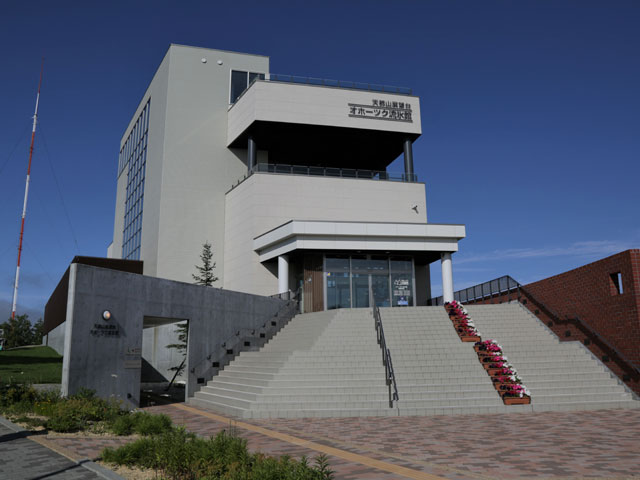 オホーツク流氷館・天都山展望台