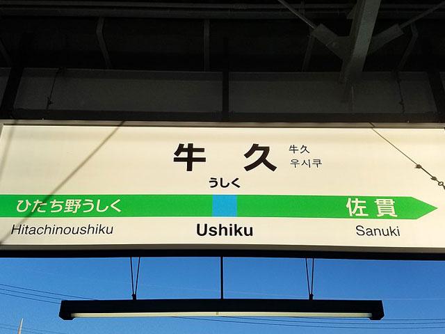 茨城県の牛久駅は、JR常盤線が乗り入れる牛久市の中心駅です。東京上野ラインの開業で、品川駅や東京駅から乗り換えなしでアクセスできるようになりました。 牛久市の観光名所といえば、総高120mを誇る「牛久大仏」が有名です。世界一大きな青銅製の仏像としてギネスブックにも登録されています。駅の東口(シャトー口)から車で約20分。あみプレミアムアウトレットがある圏央道の阿見東ICから車で3分で到着します。 東口から徒歩約10分の牛久シャトーは、明治時代に日本で初めて建てられた本格的なワイン醸造場です。レンガ造りの洋館の一部は国の重要文化財にも指定されています。施設内はワイン資料館の他、地ビールやワインが味わえるレストランもあり。春にはお花見、夏にはビアガーデン、秋にはワイン祭りと季節のイベントも開催されています。 国道6号線の走る西口(かっぱ口)駅前のエスカード牛久は、一階に大型スーパーがある便利な駅チカのショッピングスポット。牛久市には駅出口の名前の由来にもなった河童にまつわる昔話が数多く残り、河童の絵で有名な画家、小川芋銭(うせん)もこの地に住んでいました。駅から車でおよそ10分、牛久沼ほとりの遊歩道「かっぱの小径」沿い、芋銭が晩年を過ごした雲魚亭は現在記念館となっています。例年6月に見ごろを迎える観光アヤメ園も、雲魚亭からほど近い三日月橋のたもとです。7月下旬に開催される「うしくかっぱ祭り」期間中は、会場となる牛久市役所や花水木通りの周辺で道路交通規制が行われるためお出かけの際はご注意ください。