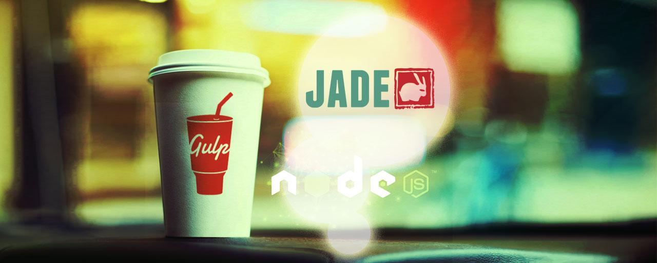 軽量なマークアップ言語 Jade 入門 からの Gulp でコンパイルまで - Gulp で作る Web フロントエンド開発環境 #5