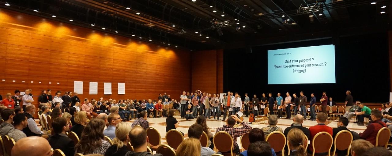 Global Scrum Gathering Prague 2015 #2: Open Space