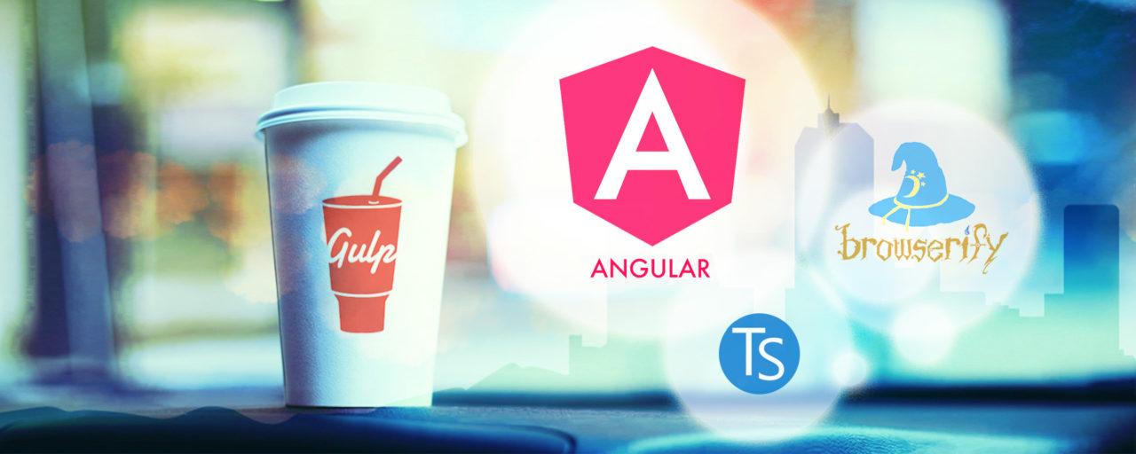 【Angular2入門】TypeScriptをコンパイルからのWatchifyでファイル結合、ブラウザで動作確認するところまで - Gulpで作るwebフロントエンド開発環境