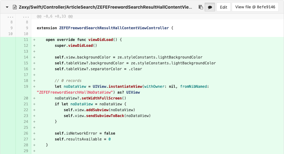 Obj-C から Swift extension にメソッドを移行