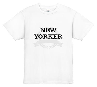 プリントTシャツ NewYorker