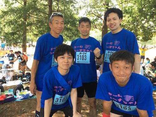 マラソン用スポーツTシャツ