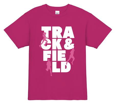トラック&フィールド│ランニング、マラソンTシャツデザイン