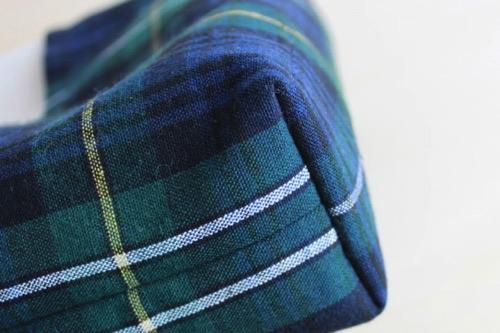 マチを縫う 3│バッグインバッグの作り方
