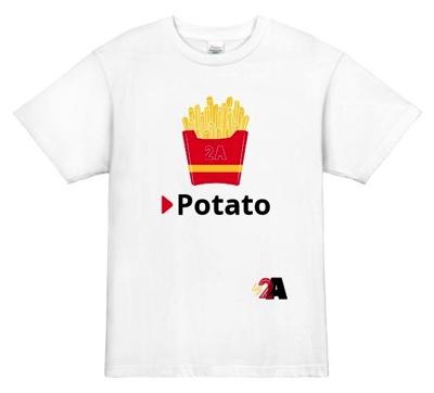 シンプル・イズ・ベスト!王道の食べ物クラスTシャツデザイン│食べ物デザインのクラスTシャツ