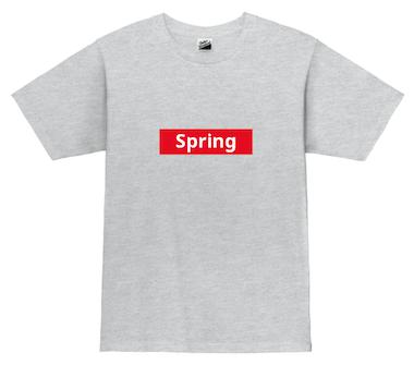spring オリジナル プリントTシャツ