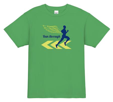 このTシャツを着るだけで、ランナーズハイを感じれるかも?│ランニング、マラソンTシャツデザイン