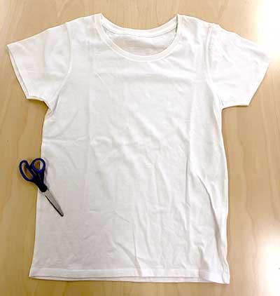 Tシャツでウエスを作りましょう
