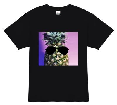 流行のダークトロピカルTシャツ