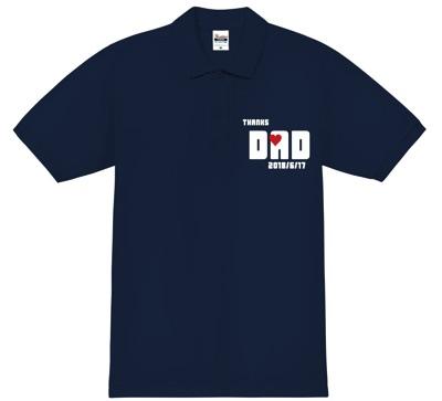 ポロシャツのサイズはピッタリめにするのがオシャレ!│父の日はオリジナルポロシャツをプレゼント