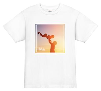 思い出写真 Tシャツ