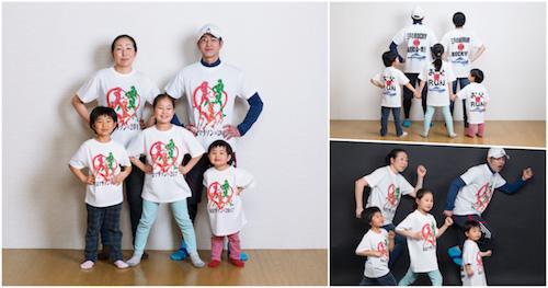 東京マラソン お客様事例のオリジナルTシャツ