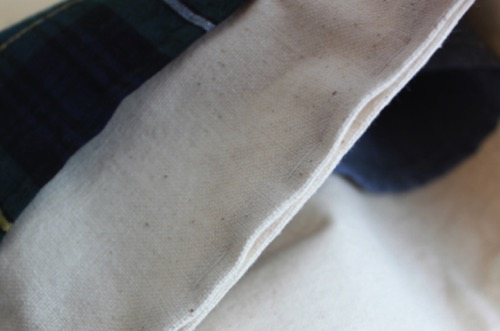 バッグの口部分を縫う 2│バッグインバッグの作り方