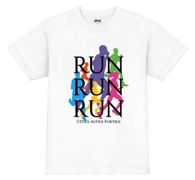 東京マラソン用のオリジナルTシャツ