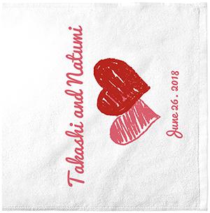 いつまでも新婚気分になれるタオルデザインを作ろう!